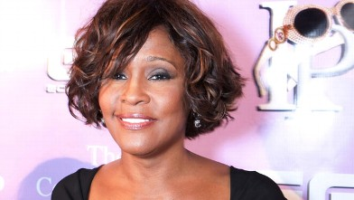 PHOTO: Whitney Houston arrives to the Kelly Price & Friends Unplugged: For The Love Of R&B GRAMMY Party at Tru Hollywood on Feb. 9, 2012 in Hollywood, California.
