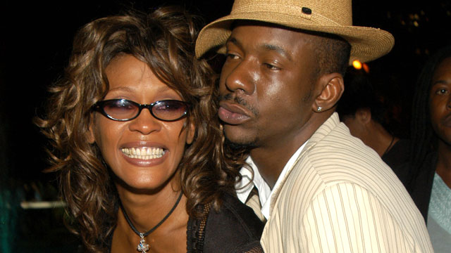 PHOTO: Whitney Houston and Bobby Brown.