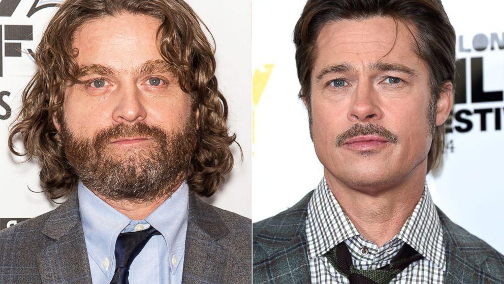 Watch Zach Galifianakis Ask Brad Pitt If He S Seen Friends