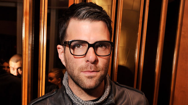 "PHOTO: Actor Zachary Quinto attends The Cinema Society & Fox Searchlight With Groundswell Productions Screening Of ""Lola Versus"" at SVA Theater on June 5, 2012 in New York City."