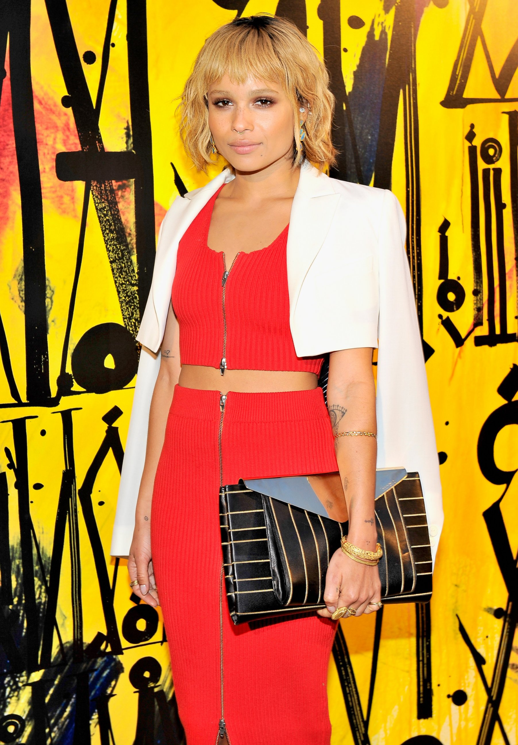 Zoe Kravitz Goes Blonde!