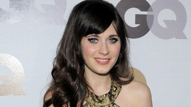PHOTO: Zooey Deschanel attends the GQ  &quot;Men of the year&quot; party at the Chateau Marmont in this Nov. 17, 2011 in Hollywood, Cali.
