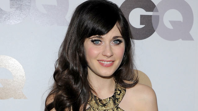 "PHOTO: Zooey Deschanel attends the GQ ""Men of the year"" party at the Chateau Marmont in this Nov. 17, 2011 in Hollywood, Cali."
