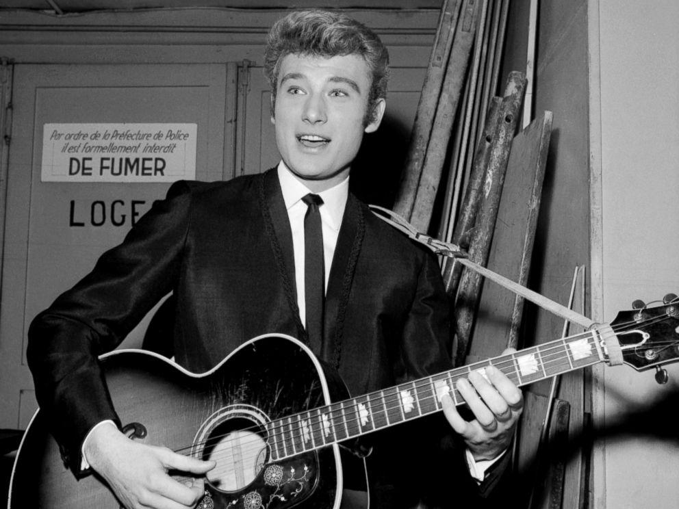 Johnny Hallyday, 74