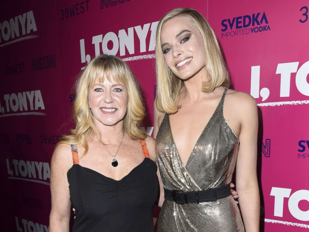 PHOTO: Tonya Harding and Margot Robbie attend NEON and 30WEST Present the Los Angeles Premiere of I, Tonya Supported By Svedka, Dec. 5, 2017, in Los Angeles.