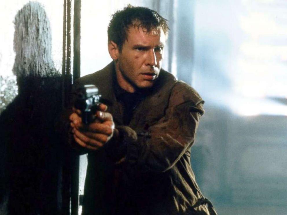 PHOTO: Harrison Ford in Blade Runner, 1982.