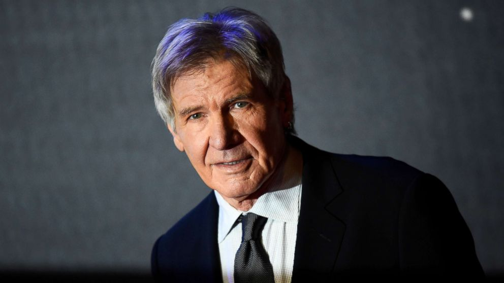 Harrison Ford steps in to help woman whose car ran off the road