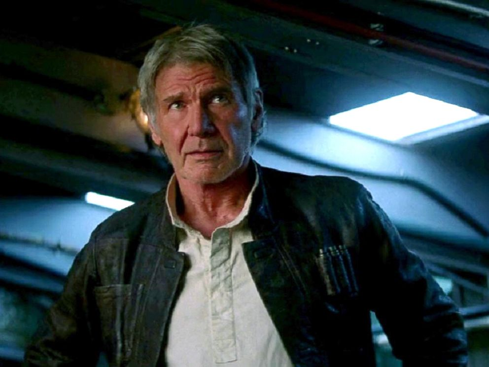 PHOTO: Harrison Ford in Star Wars: Episode VII - The Force Awakens, 2015.