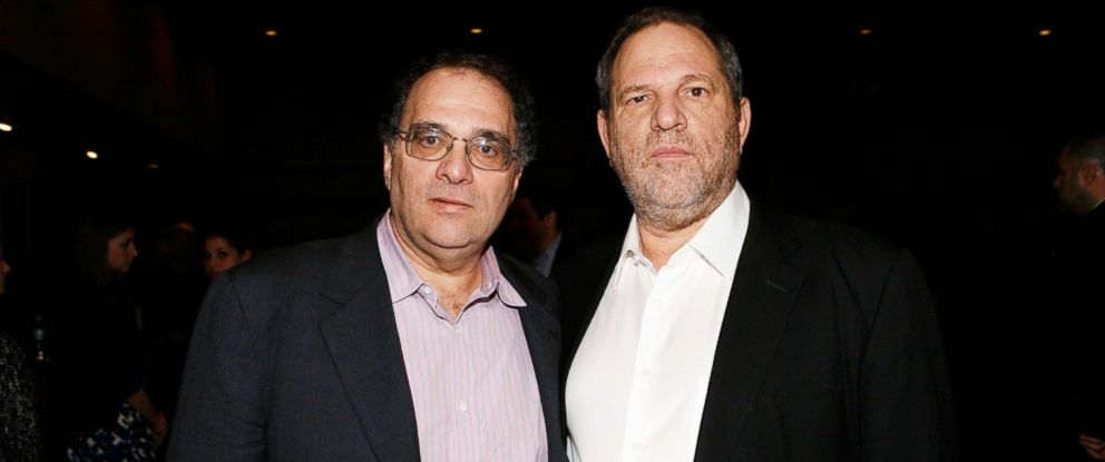 "PHOTO: Bob and Harvey Weinstein attend the premiere of ""The Road"" on Nov. 16, 2009, in New York City."