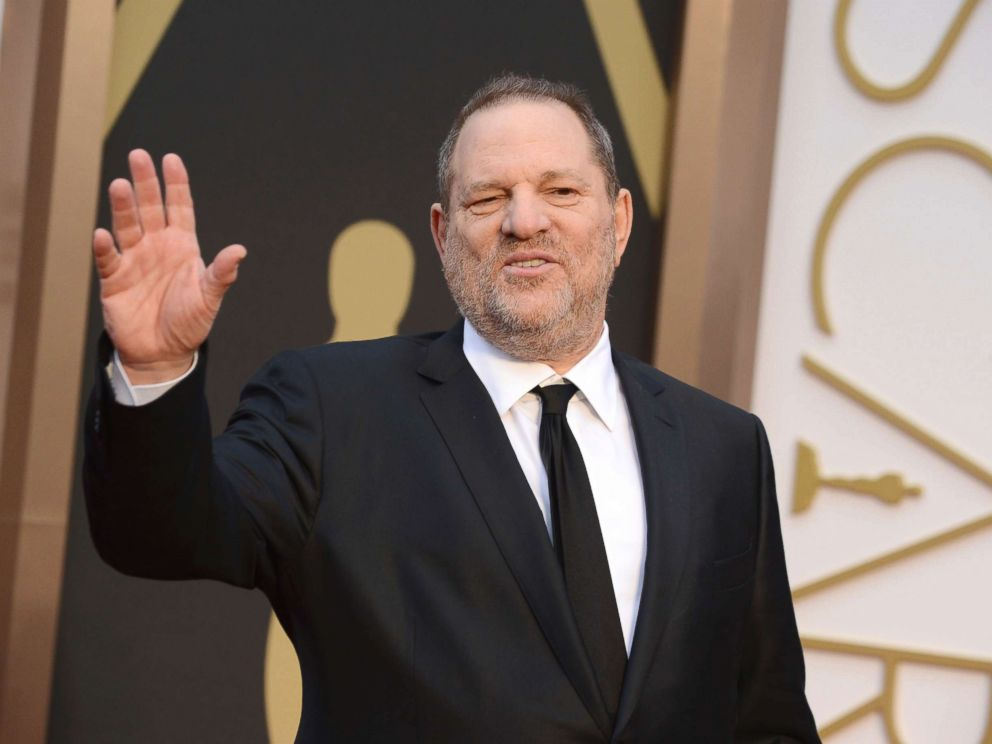 PHOTO: Harvey Weinstein arrives at the Oscars in Los Angeles in this March 2, 2014 file photo.
