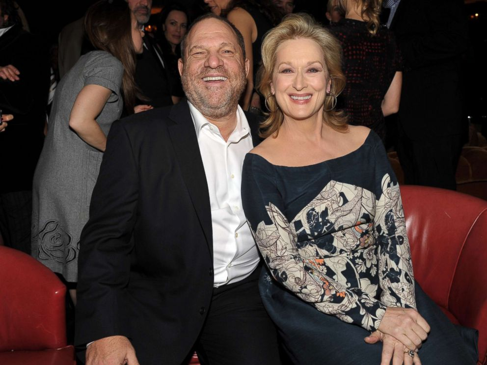 PHOTO: Harvey Weinstein and actress Meryl Streep attend the Australian Academy Of Cinema And Television Arts International Awards Ceremony at Soho House on Jan. 27, 2012 in West Hollywood.