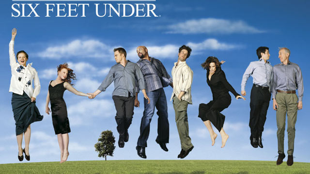 PHOTO: The cast of Six Feet Under, is seen in this publicity image, which aired on HBO from 2001-2005.