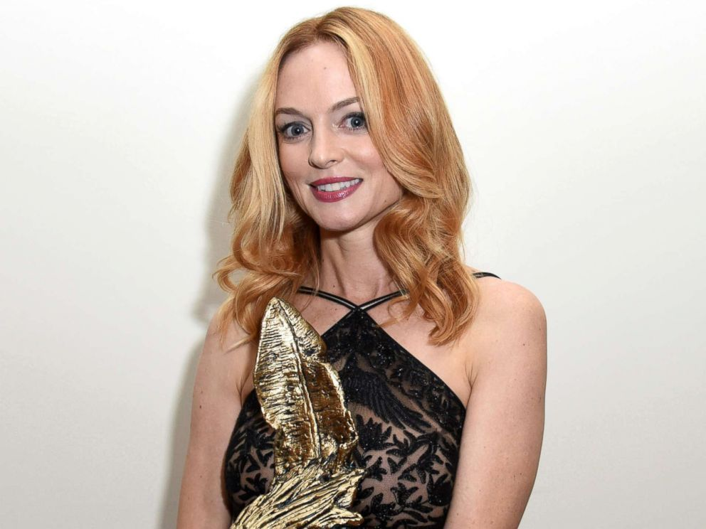 PHOTO: Heather Graham receives the Virtuoso Award at the San Diego International Film Festival 2017, Oct. 4, 2017, in San Diego, Calif.