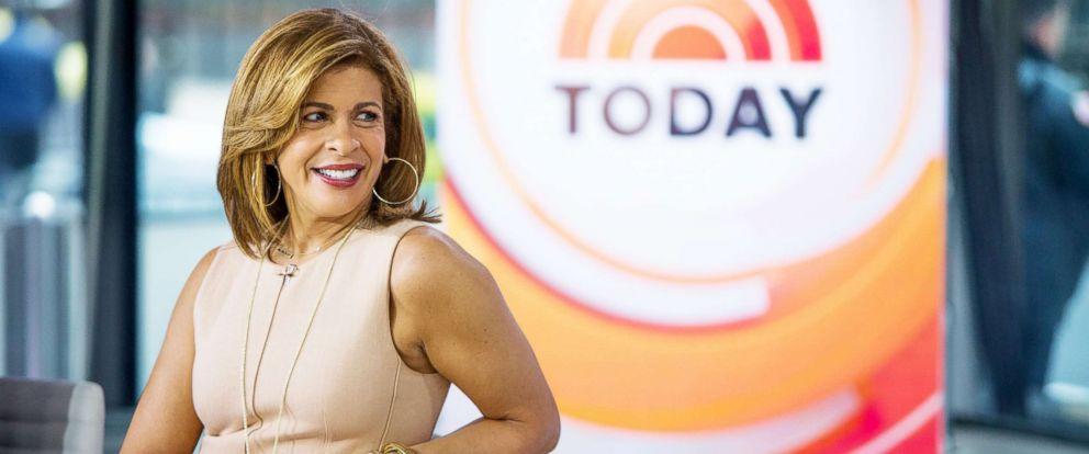 """PHOTO: Hoda Kotb appearson """"The Today Show,"""" on Nov. 8, 2017."""