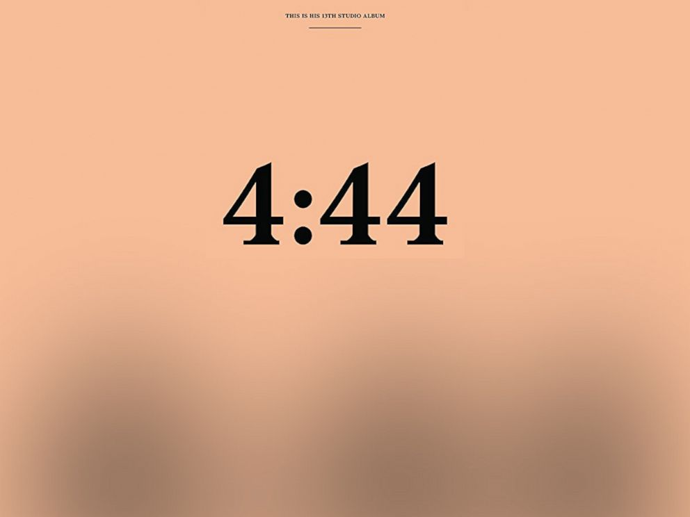 PHOTO: Jay-Zs new album 4:44 was released, July 7, 2017.