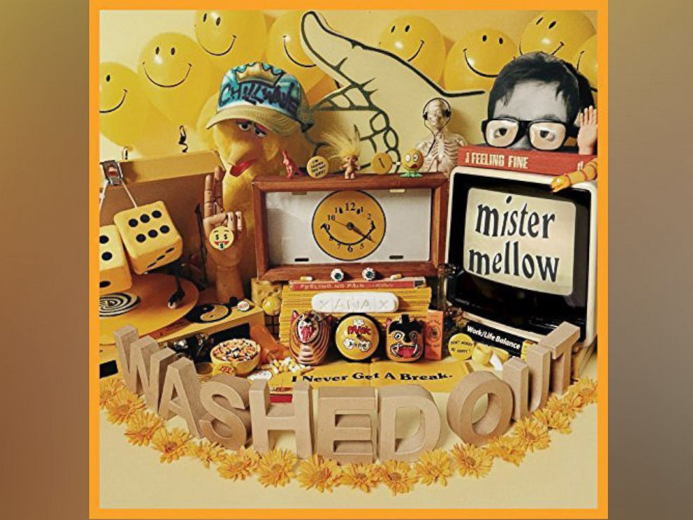 PHOTO: Washed Outs new album, Mister Mellow, June 30, 2017.