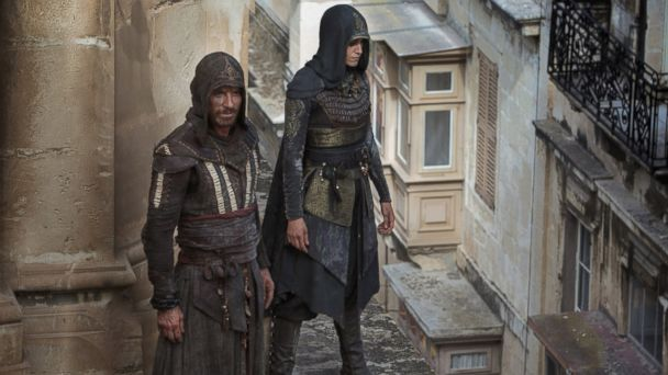 PHOTO: Michael Fassbender and Ariane Labed star in the film