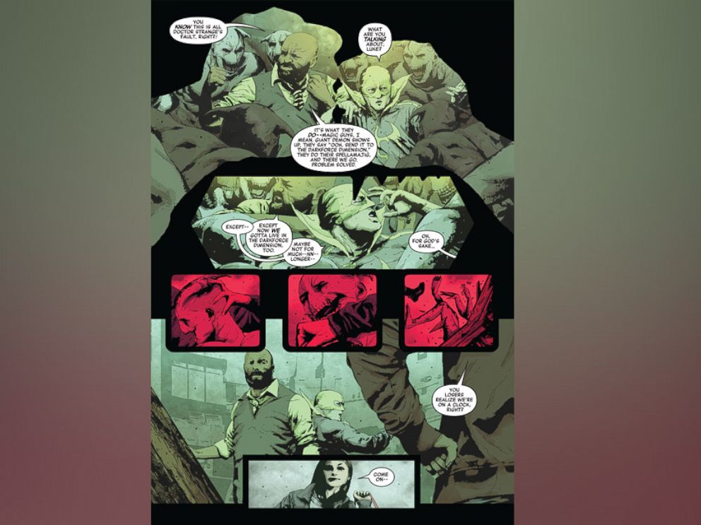 """PHOTO: Exclusive scenes from Marvel's """"Secret Empire"""" issue No. 2."""