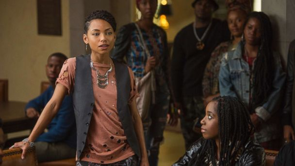 PHOTO: Logan Browning in