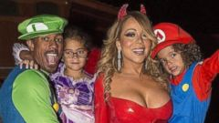 Nick Cannon and Mariah Carey Reunite for Their Twins