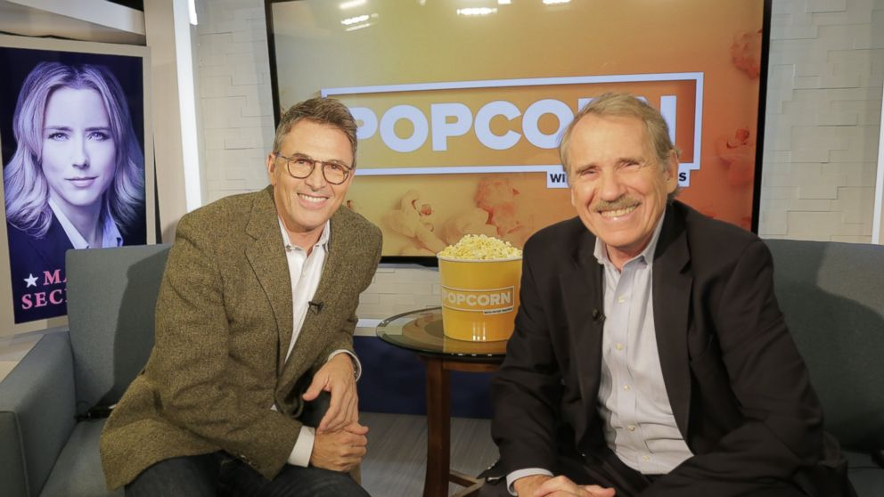 PHOTO: Tim Daly and Peter Travers at the ABC studios in New York, Sept. 30, 2016.
