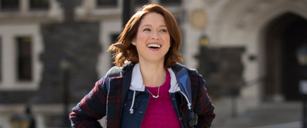 "PHOTO: Ellie Kemper stars in the Netflix comedy series, ""Unbreakable Kimmy Schmidt."""