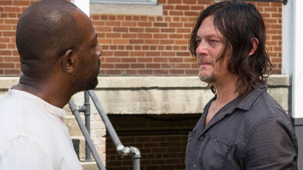 PHOTO: Lennie James as Morgan Jones, Norman Reedus as Daryl Dixon on