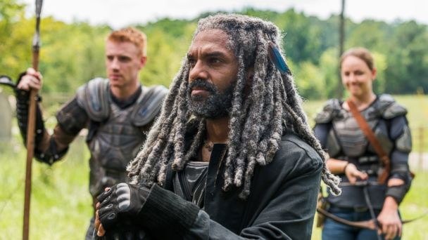 PHOTO: Khary Payton as Ezekiel, Josh Mikel as Jared, and Kerry Cahill as Dianne on