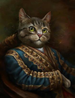 ht_03_eldar_kirov_cat_nt_130801_ssv - Cat Portraits Fit for a King - Lifestyle, Culture and Arts