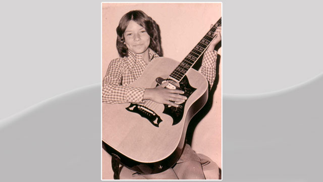 PHOTO:Shania wrote her first song when she was just 10 years old.