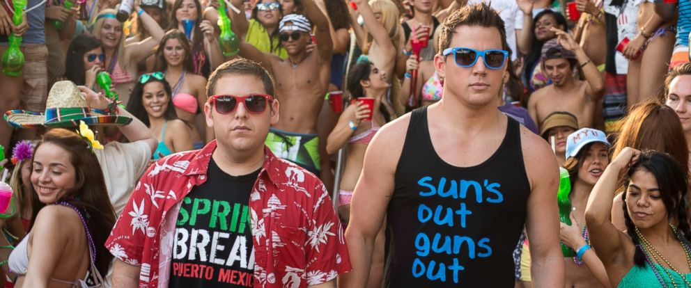 "PHOTO: Jonah Hill and Channing Tatum in Columbia Pictures ""22 Jump Street"" which opens on June 13, 2014."