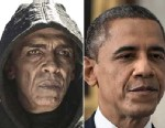 PHOTO: The internet has been buzzing about the similarities between Barack Obama and Mohamen Mehdi Ouazannis character on the History Channels documentary The Bible where he portrays, Satan.