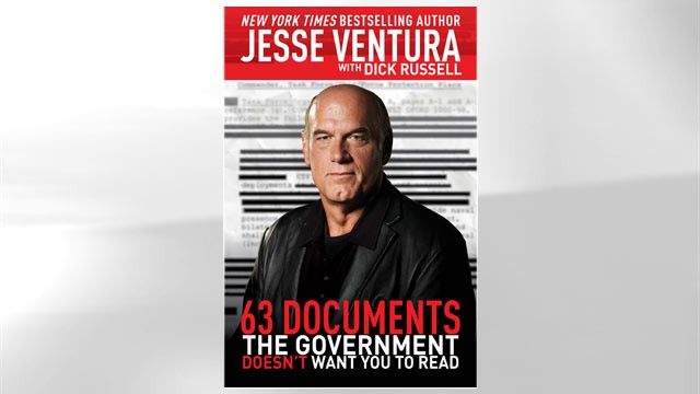"PHOTO The cover for the book ""63 Documents the Government Doesn't Want You to Read"" is shown."