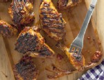 PHOTO: Katie Workmans barbecued chicken recipe is shown here.