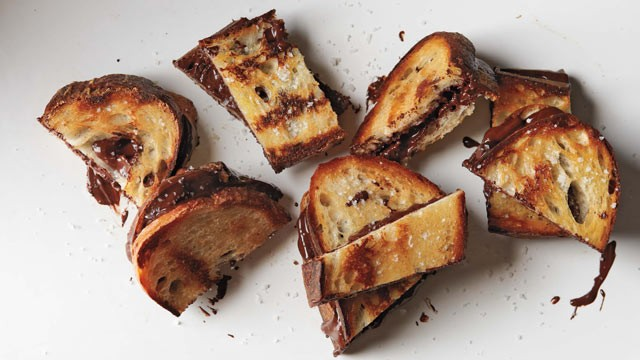 PHOTO: Chef Alice Medrich's grilled chocolate sandwiches are shown here.