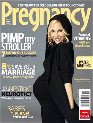 Pregnant Celeb Covers