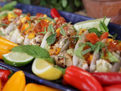 PHOTO: Richard Blais heart-healthy taco recipe is shown here.