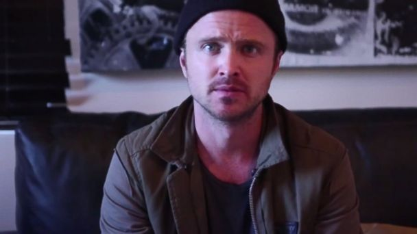 ht aaron paul youtube sr 131218 16x9 608 The Amazing Way Aaron Paul of Breaking Bad Helped a Fan Propose