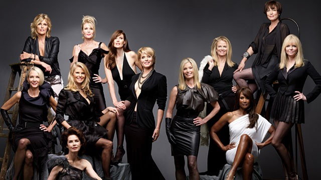 PHOTO: Former supermodels