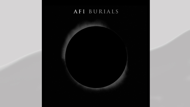 PHOTO: AFI's Burials album cover