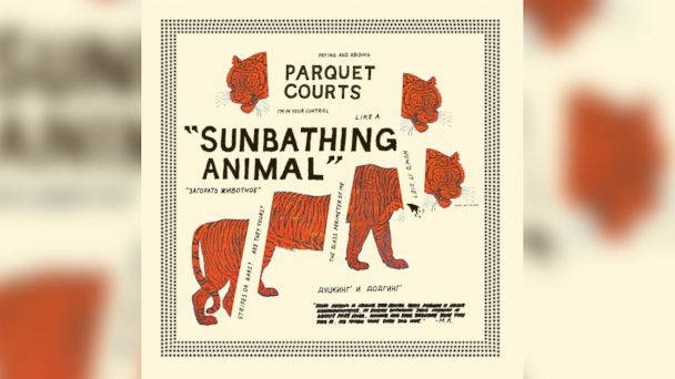 "PHOTO: Parquet Courts ""Sunbathing Animal""."