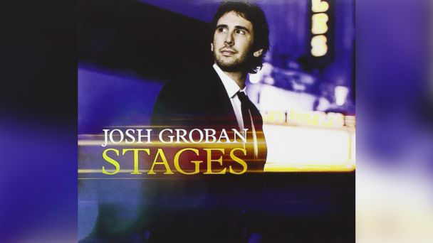 """PHOTO: Josh Grobans """"Stages"""" (Deluxe)"""