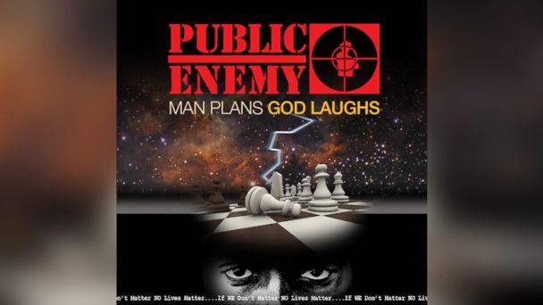"""PHOTO: Public Enemys """"Man Plans God Laughs"""""""