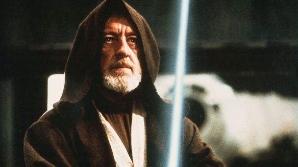 PHOTO: Obi Wan Kenobi, portrayed by Alec Guinness, is seen in a scene from