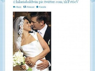 Photos: Alec Baldwin Shares Romantic Wedding Photo