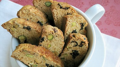 PHOTO: Chef Amy Green's pistachio cranberry biscotti are shown here.