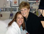 PHOTO: Angie Everhart and mother