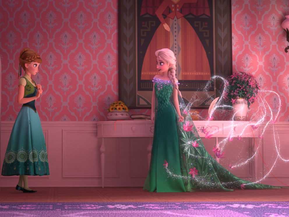 PHOTO: Elsa celebrates Annas birthday by throwing a party full of surprises and presents, including summer dresses, until Elsas icy powers have a few unintended consequences.