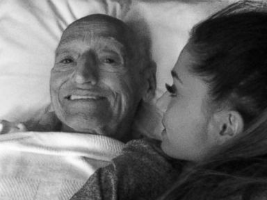 Ariana Grande's Heart 'Beyond Broken' Over Grandfather's Death