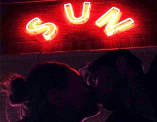 Ashton Kutcher Posts A Kissing Selfie With Mila Kunis